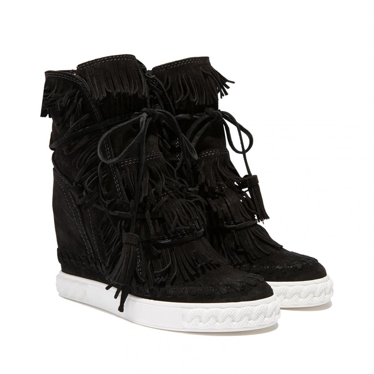 Casadei | Black Sneakers | Lyst