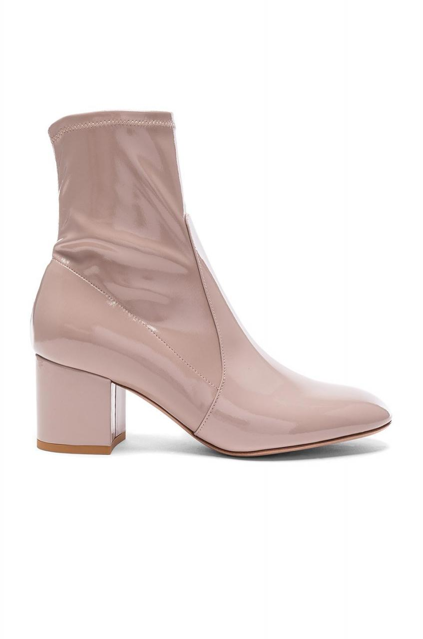 Valentino | Multicolor Patent Leather Booties | Lyst