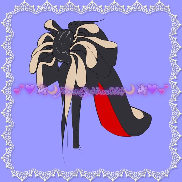 Christian Louboutin Accessories - Custom Art Print?Louboutin Evening Carnaval heel