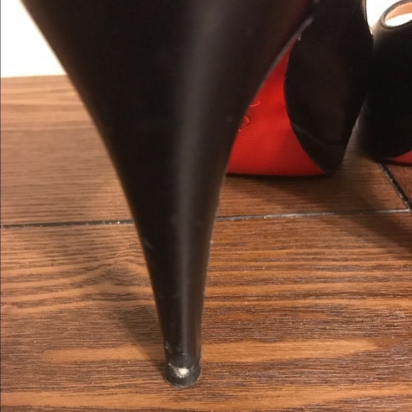 Christian Louboutin Shoes - Christian Louboutin Peep Toe Pumps