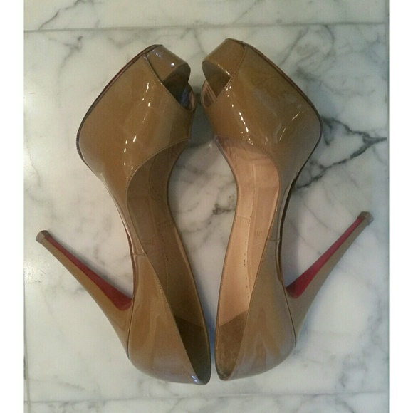 christian louboutin  Shoes - PLEASE READ! Christian Louboutin Peep Toe Pumps